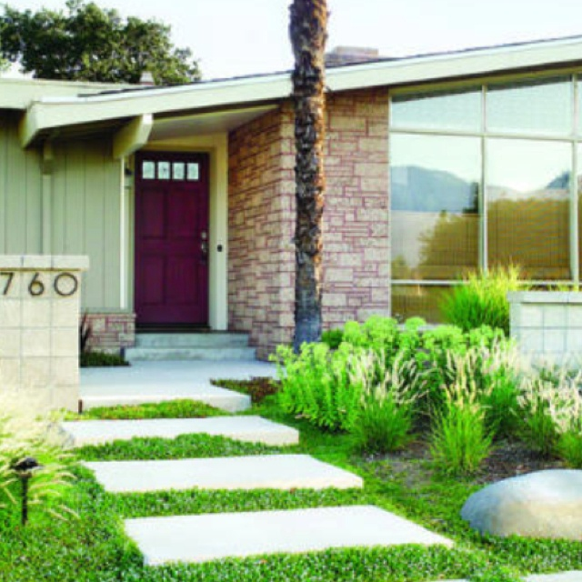 Modern Front Yard: 97 Best Images About Modern Ranch Home On Pinterest