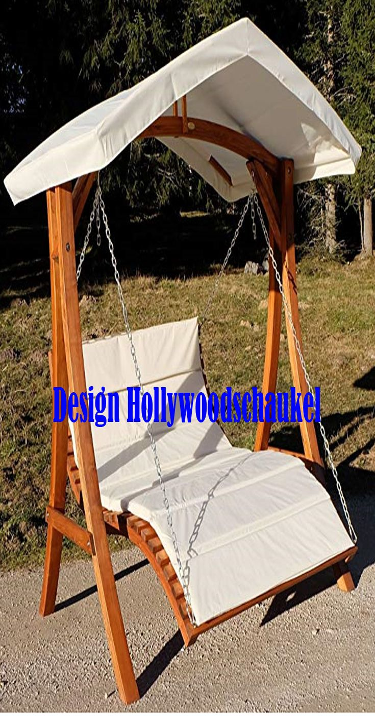 Design Hollywoodschaukel Schaukel Hollywoodschaukel Gartenschaukel