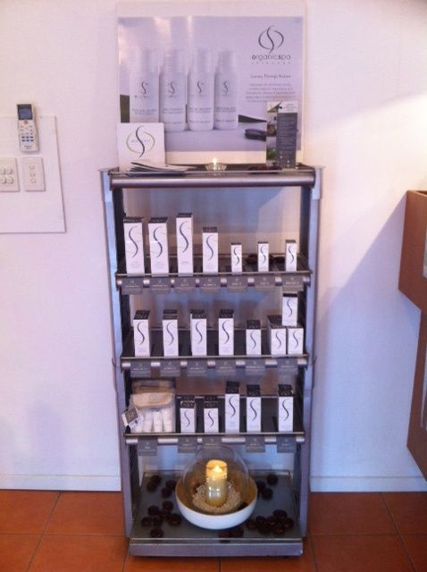 Here is our retail range for our new skin care ...Organicspa.....divine products #lovelove