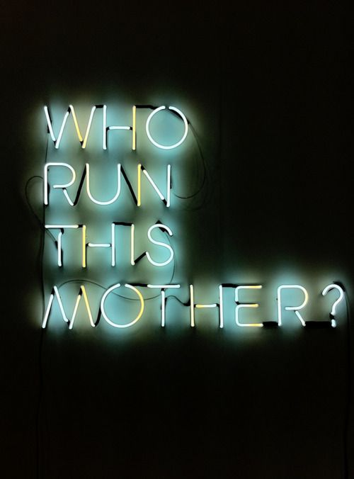 who run this mother? • karl holmqvist