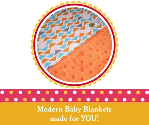 Custom baby blankets or choose from our pre-made designs at www.stylememodern.com $58.00 CND