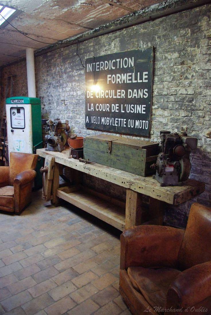 Table atelier menuisier recherche google loft industriel atelier menuisier table atelier - Table atelier industriel ...