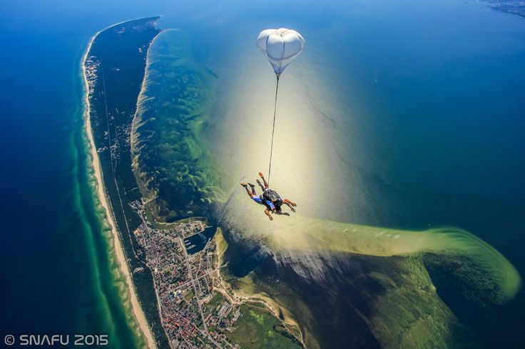Tandem Jump. Poland, Jastarnia
