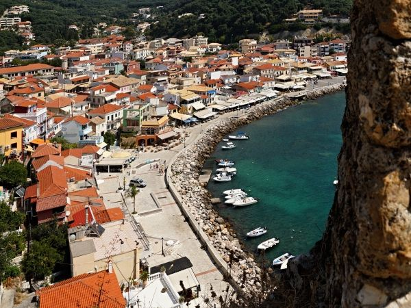 Port promenade of Parga
