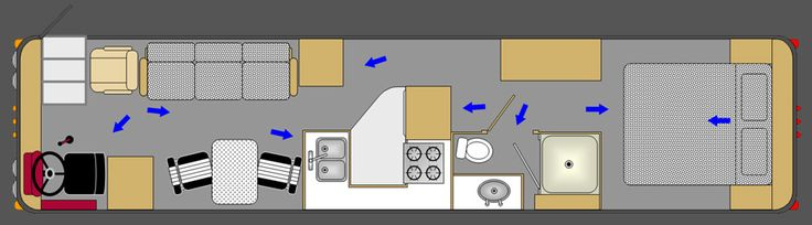 School Bus Conversion Plans | Bus Conversion Floor Plans