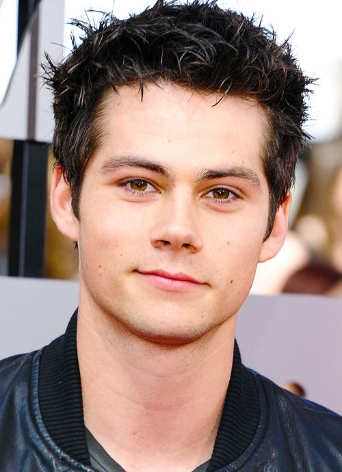 dylan+o'brien | Dylan O'Brien attends the 2014 MTV Movie Awards at Nokia Theatre L.A ...