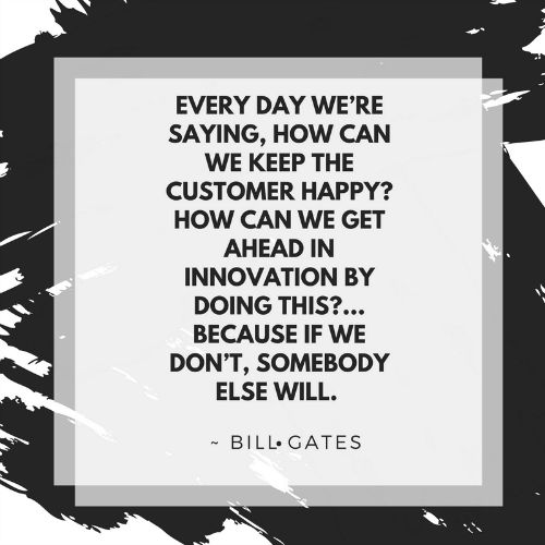 Inspirational Loyalty Quote Bill Gates