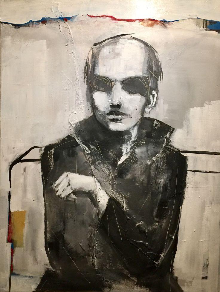 Painted by Frode Lauvsnes. #art #painting #figurative #portrait