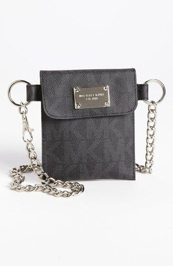 MICHAEL Michael Kors Faux Leather Chain Belt Bag available at #Nordstrom