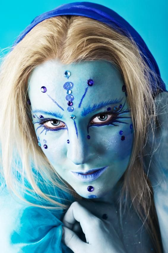 fantasy full face  makeup looks   Makeup Fantasy Looks [Slideshow]
