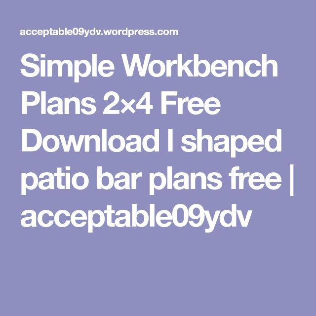 Best 25 workbenches for sale ideas on pinterest for L shaped bar plans free download