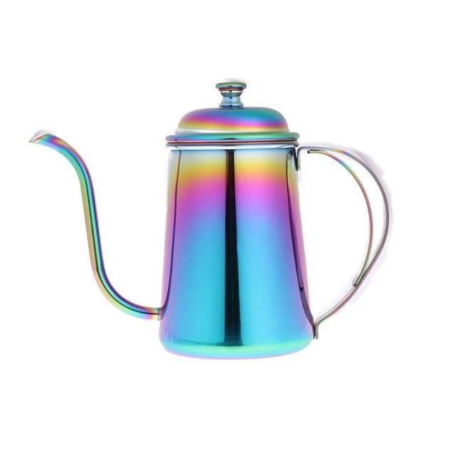Teapot Small Rainbow Coffee