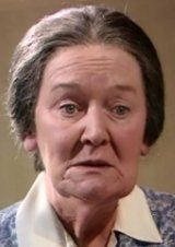 Mrs Edna Hall - Mary Hignett. Pups, Pigs And Pickle. Series 2 Episode 12. Original Transmission Date - Saturday 9th December 1978. #AllCreaturesGreatAndSmall #JamesHerriot #YorkshireDales