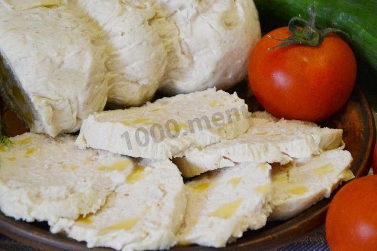 Колбаса домашняя куриная с сыром