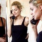 Angelina Jolie sotto l'effetto di droghe in un video del '99