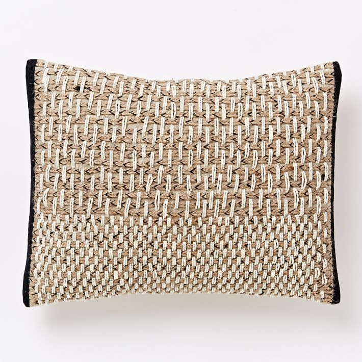 West Elm Throw Pillow Inserts : Basketweave Pillow Cover West Elm TEXTURES Pinterest Products, Pillow covers and West elm