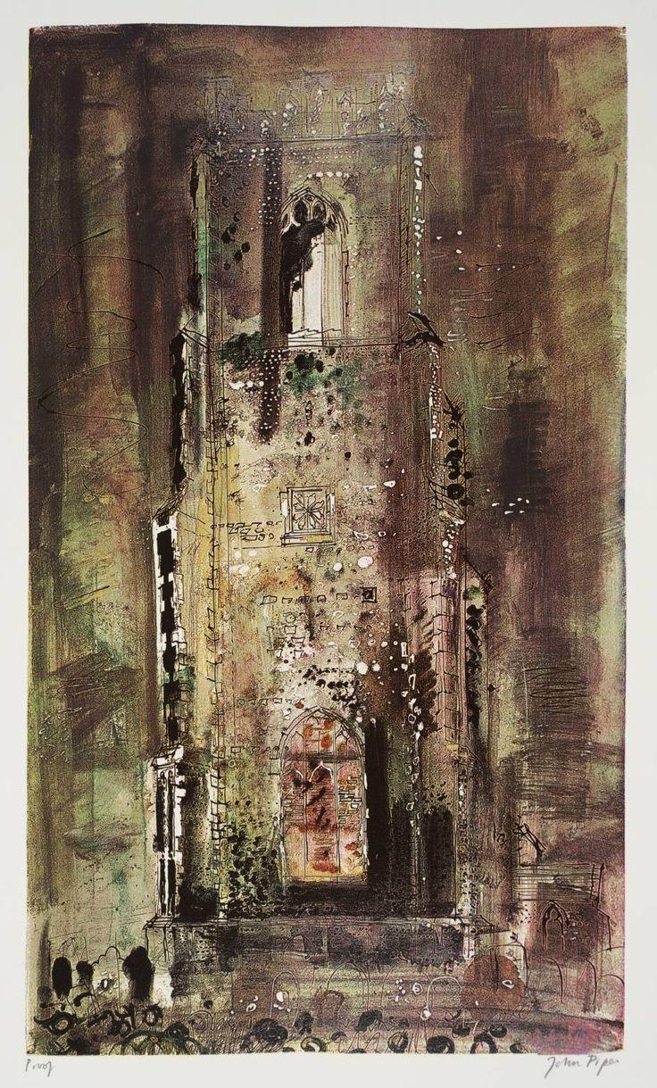 """Corton Church""- POUL WEBB ART BLOG: John Piper – part 2"