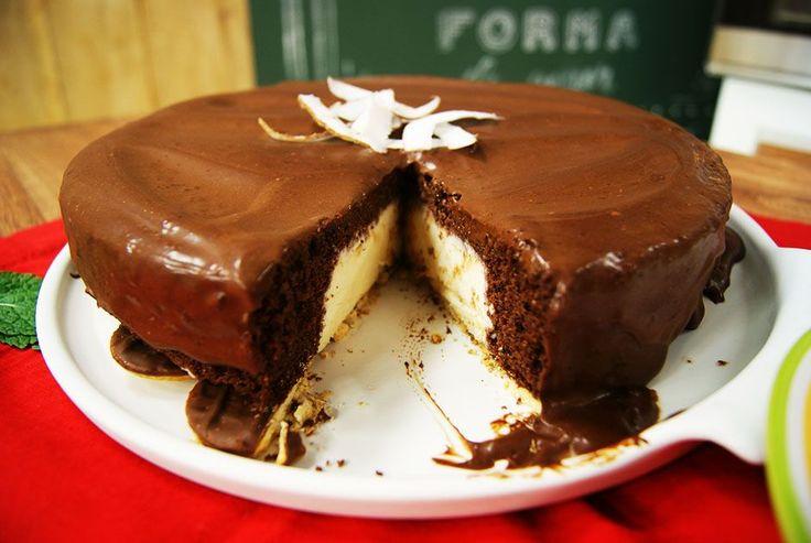 Aprenda a fazer a receita de Torta de Prestígio