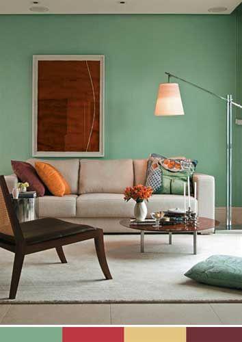 As cores na decoração(2)                                                                                                                                                                                 Mais