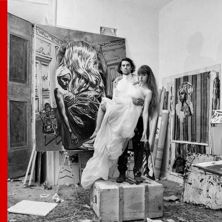 My Studio, Me & Fabia - RYAN MENDOZA from ARTREWIND #1 project © Giovanni De Angelis #artrewind #art #giovannideangelis #ryanmendoza