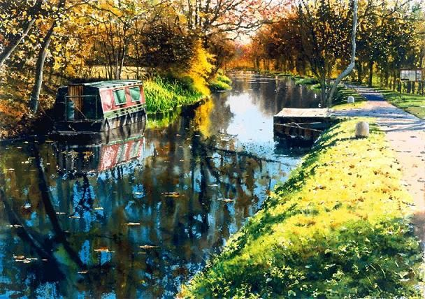 Landscape Watercolor Paintings by UK Artist Joe Francis Dowden