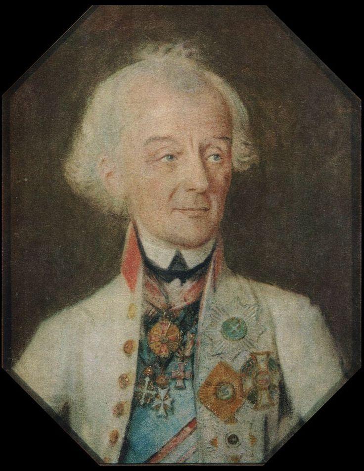 Portrait of Alexander Suvorov by J H Schmidt 1800 - Суворов, Александр Васильевич — Википедия