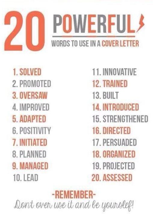 funny pictures about 20 powerful words to use in a resume oh and cool pics about 20 powerful words to use in a resume also 20 powerful words to use in a