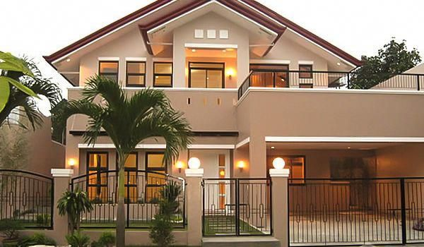 Buildersphilippines Com House Home Builders And Tophomeinteriors Exterior Paint Colors For House House Paint Exterior House Paint Interior