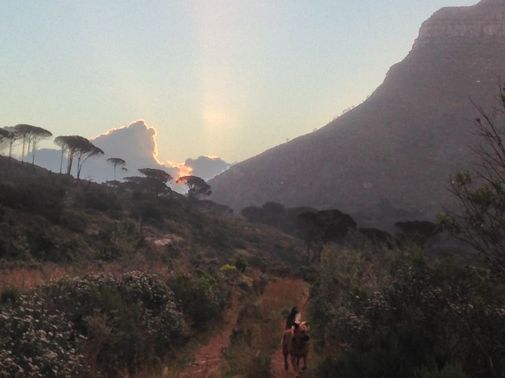 Joe loves Table Mountain in the winter!!