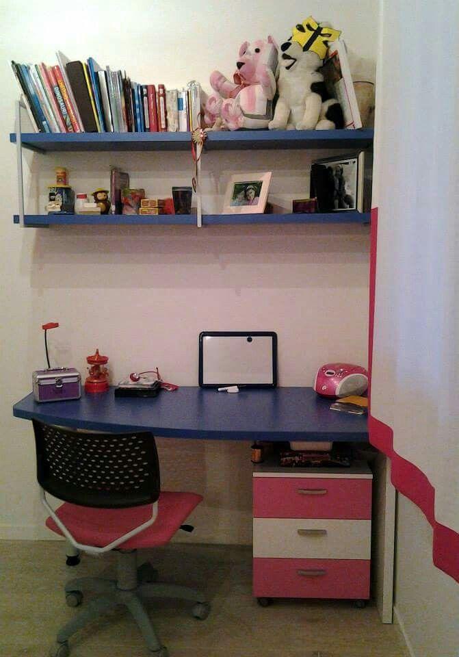 Oltre 25 fantastiche idee su angolo scrivania su pinterest for Idee mensole cameretta
