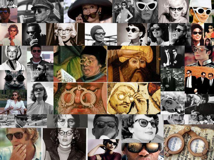 Gafas en la historia