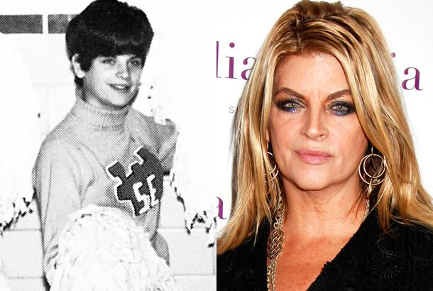 17 best images about 6 young pretty actress kirstie alley