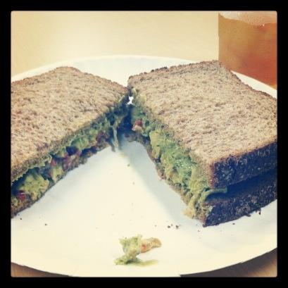 Pesto Chicken SaladSandwich
