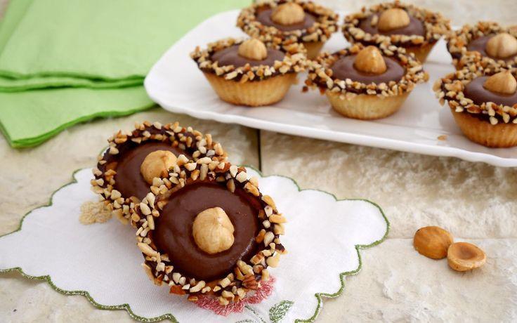 Pasticcini cioccolato e nocciole