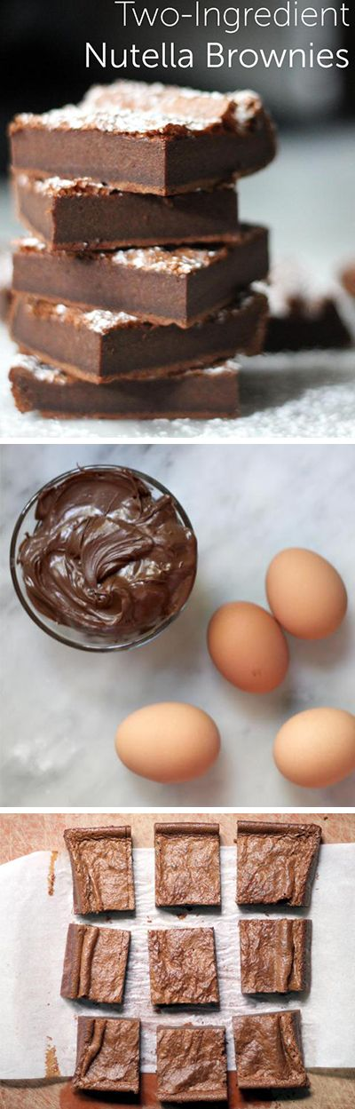 It's time for dessert! All you'll need for this quick and easy 2-ingredient recipe are eggs and Nutella. So simple and delicious.