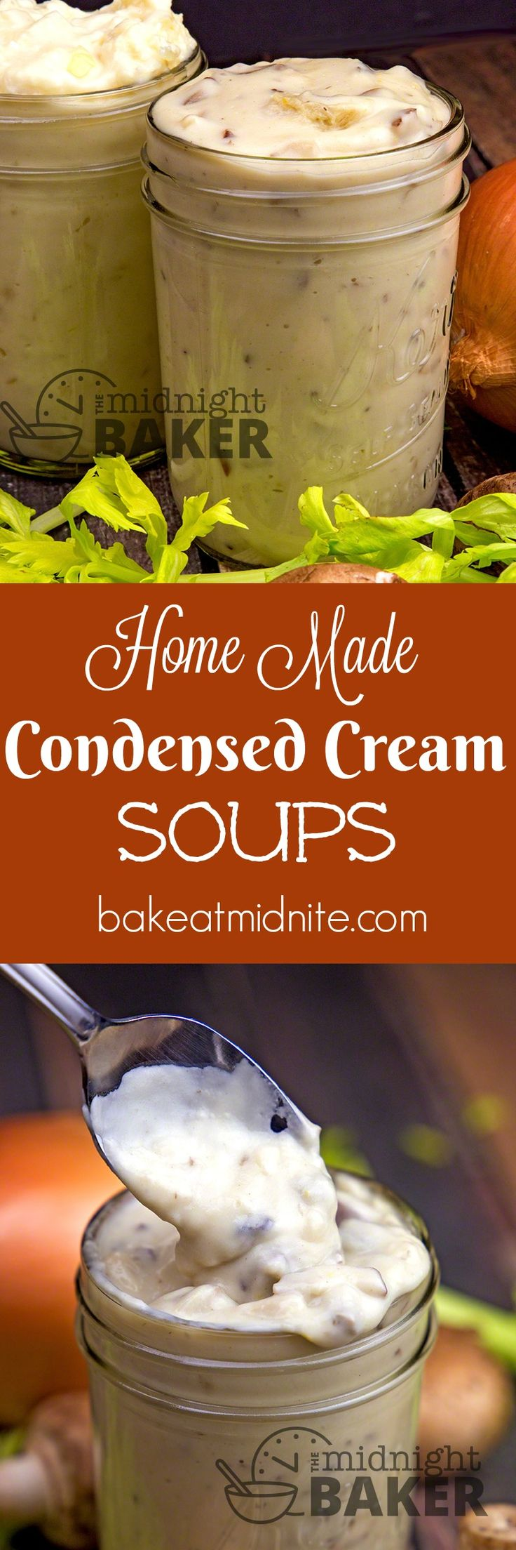 You will never use condensed cream soup out of the can again once you try these easy and delicious homemade versions.