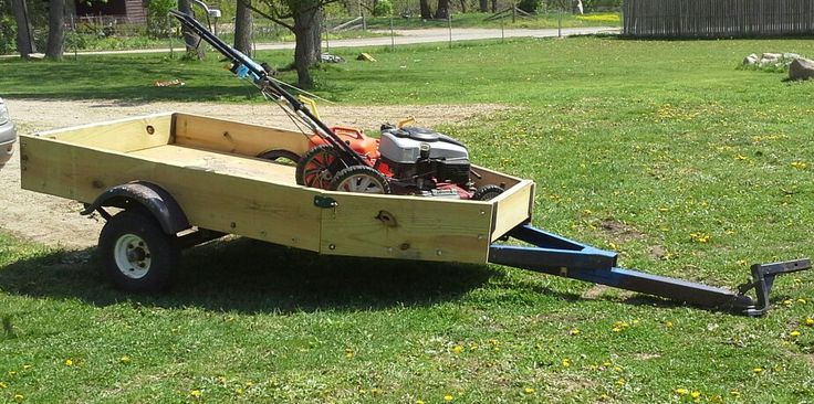 Row Boat Trailer Turned Into A Suv Sized Utility Trailer So Much