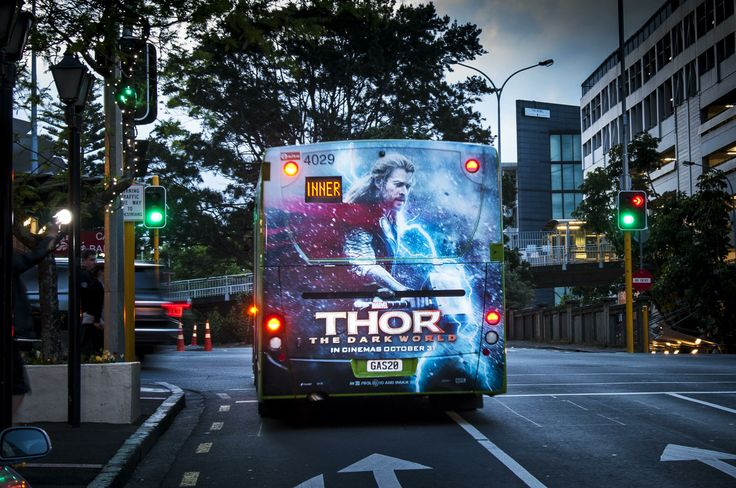 Thor on a busback panel.