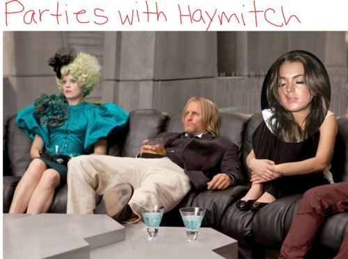 What Does Lindsay Lohan Do All Day? #Hunger Games [funny tumblr blog!]