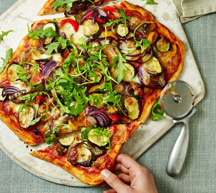 Asda Good Living | Roasted vegetable pizza recipe