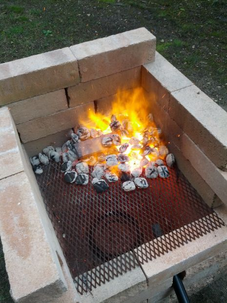 Homemade Forge - http://www.instructables.com/id/Homemade-Forge/