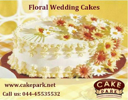 Looking for a cake as unique as you? Order your ‪#‎wedding‬ ‪#‎cake‬ from #Cake ‪#‎park‬! If you can dream it, we can make it. Visit us: www.cakepark.net Express Booking: 044-45535532