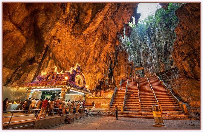Dünyanın En Büyük Mağara Tapınağı : Batu Mağaraları - Forum Gerçek