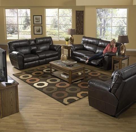 2 Piece Oversize Reclining Living Room Set   Nolan Part 69