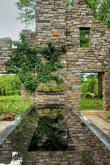 chanticleer ruin garden - Google Search