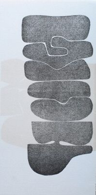 victor pasmore  original silkscreen - the image in search of itself 4  1977
