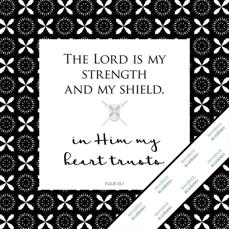 A014: My Strength And Shield