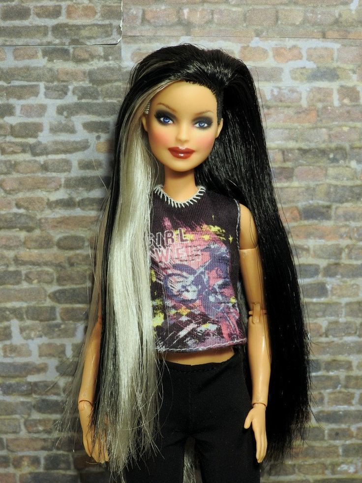 🖤 Curvy Dimples Fashionista Barbie Doll Rebodied Made To
