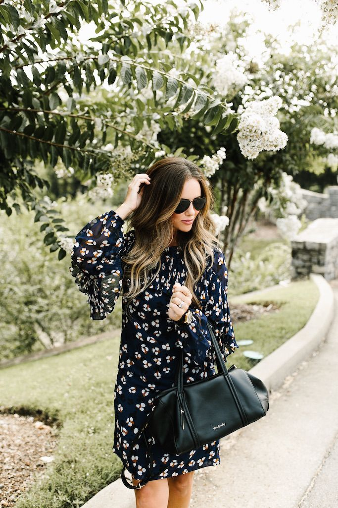 Falling for Feminine Florals with Donna Morgan | KBStyled
