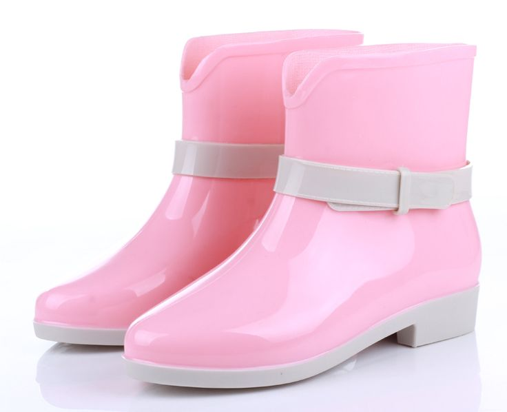 Pink Jelly Boot